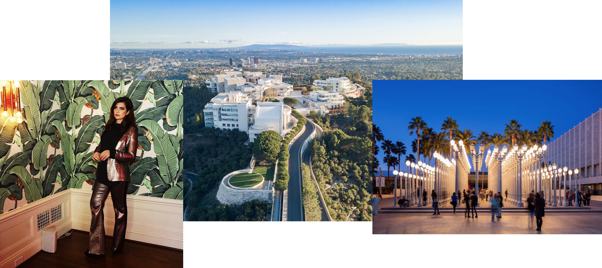 Photos L-R: @daisyodell // Getty Museum // LACMA
