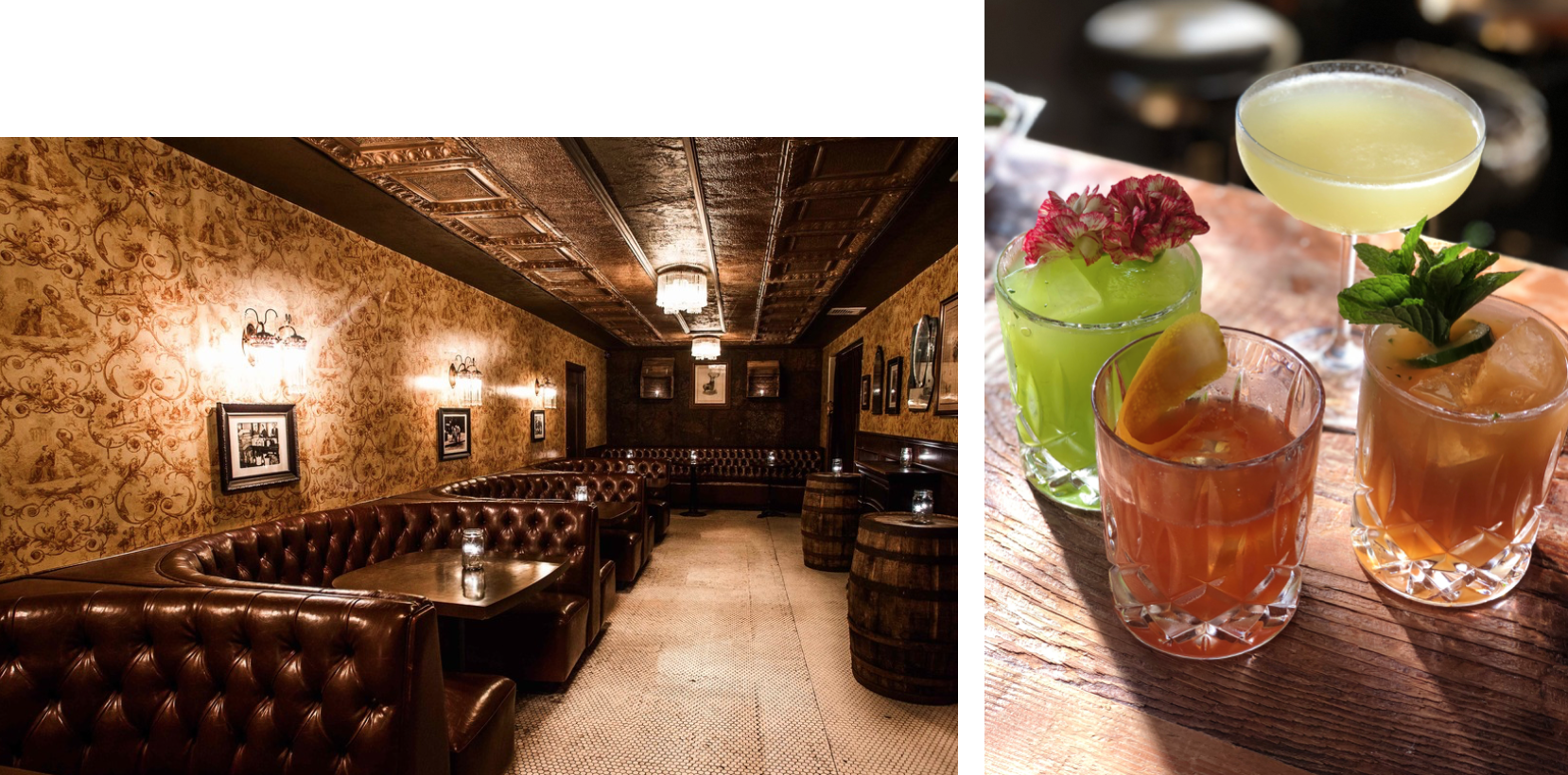 Photos L-R: Townhouse // Roosterfish