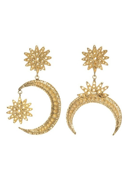 Aries Earrings //  Christie Nicolaides