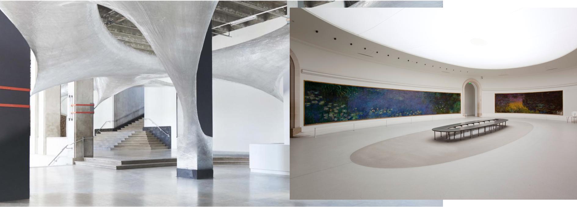 Photos: Palais de Tokyo // Musée de l'Orangerie