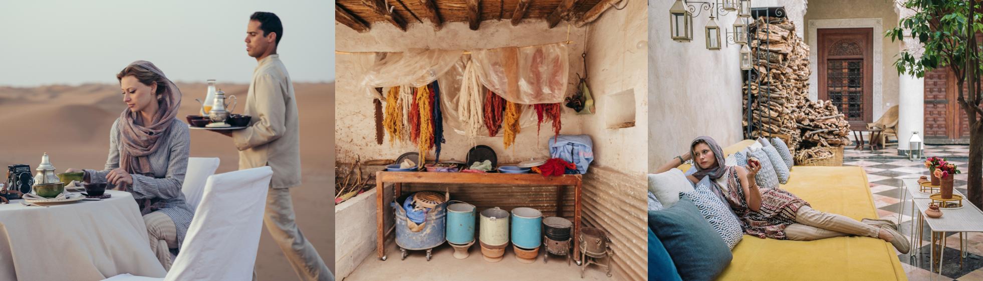 Photos: Aly Michalka (in Morocco)