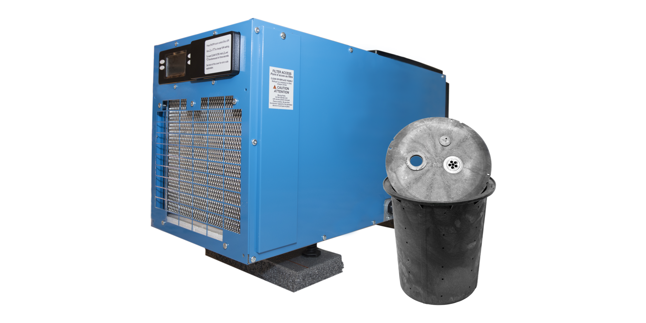 Dehumidification and Sump Pump Materials -