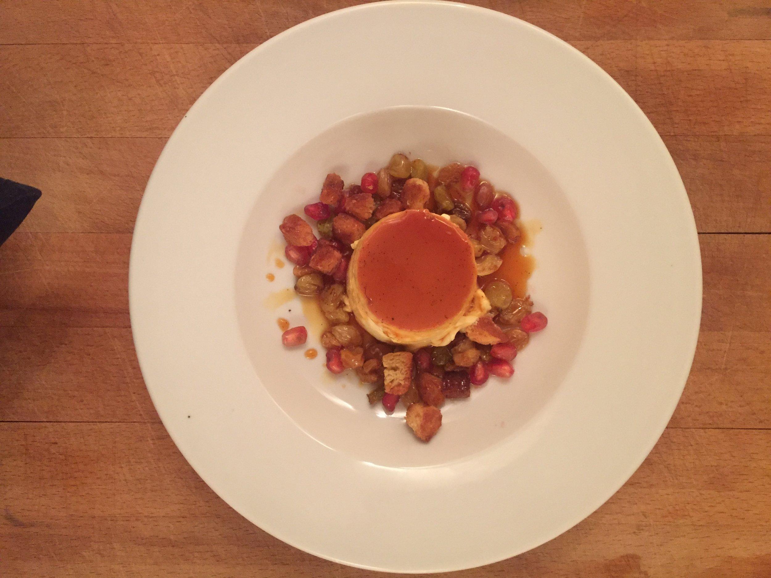 Honey Crème Caramel -