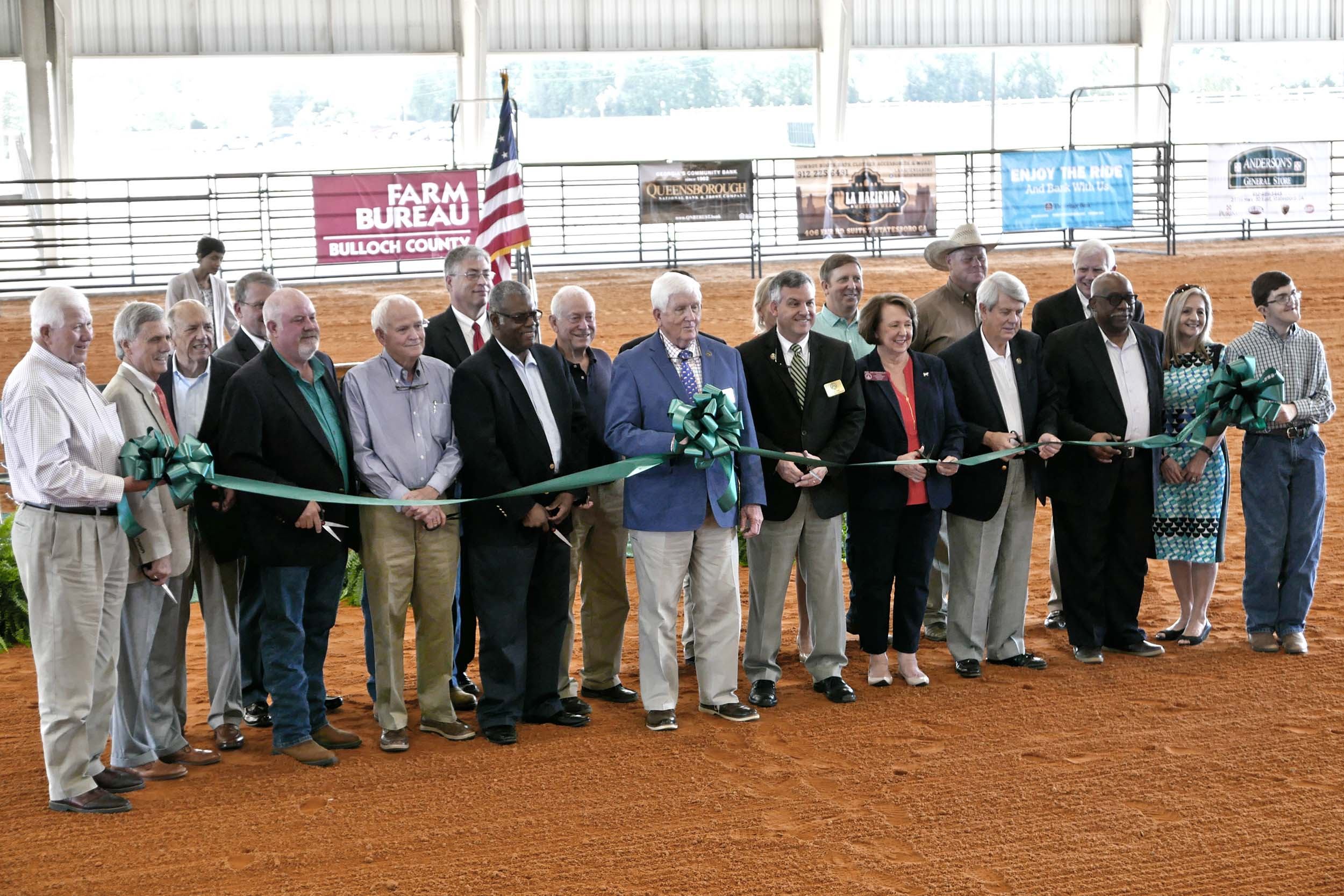Ribbon Cutting Held for the new Bulloch County Agricultural Center in Statesboro, Georgia