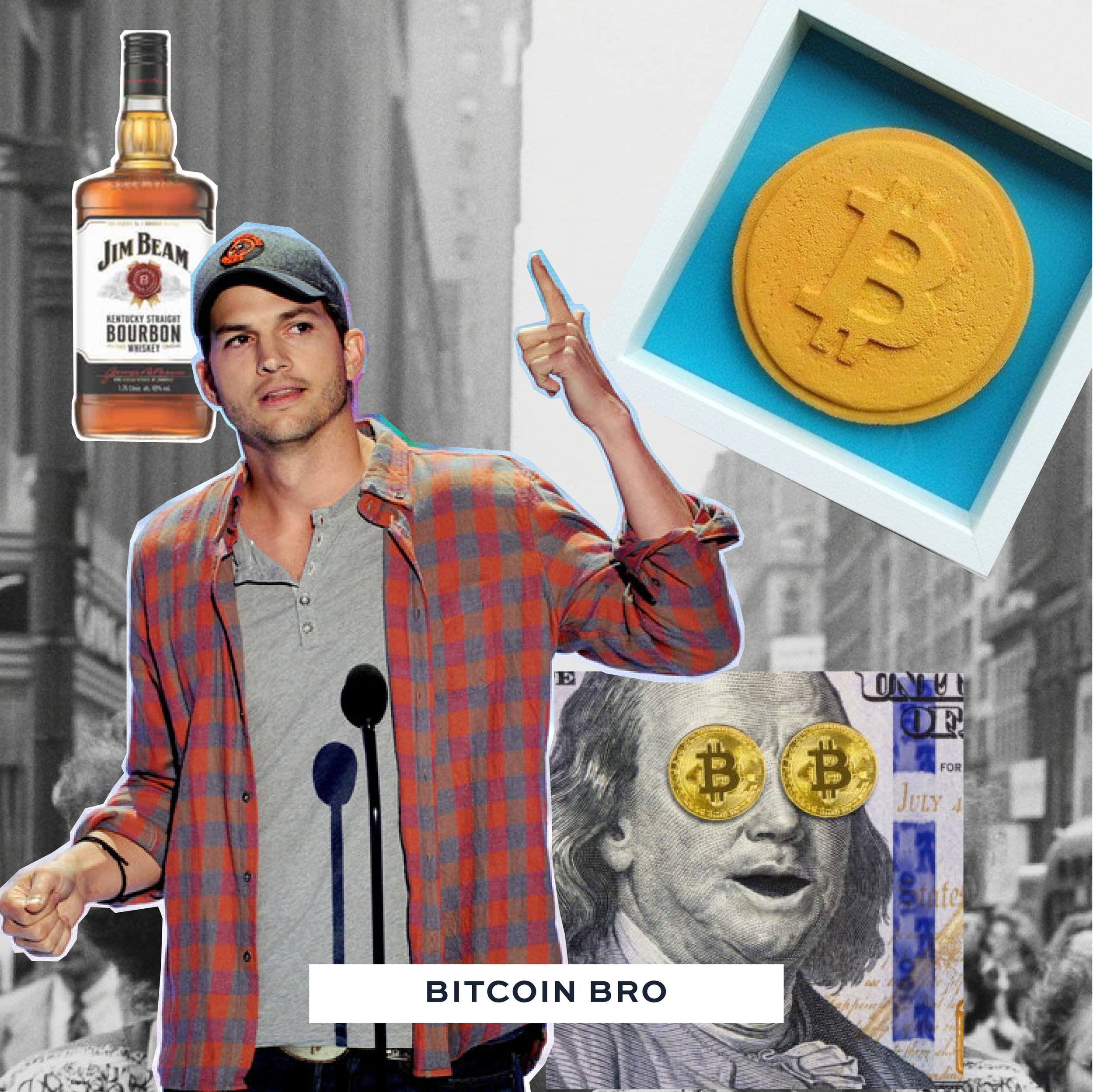 - - Unclear what he does — can't find on LinkedIn?- from Mass, lives in Murray Hill- Orders whisky on the rocks and dominates the conversation talking about crypto / obsessively checking crypto prices- Makes a move and your reaction determines whether or not he is nice for the rest of the night- Will Venmo request you the following day if crypto prices are bad