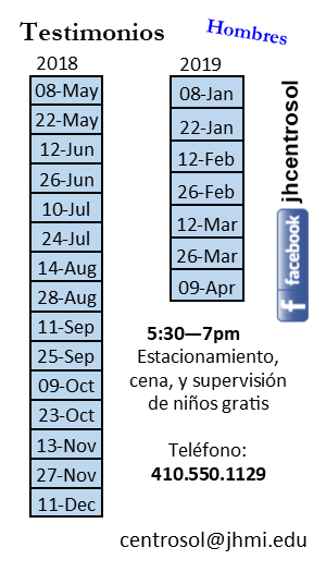 Testimonios Card Schedule 2018-2019.png