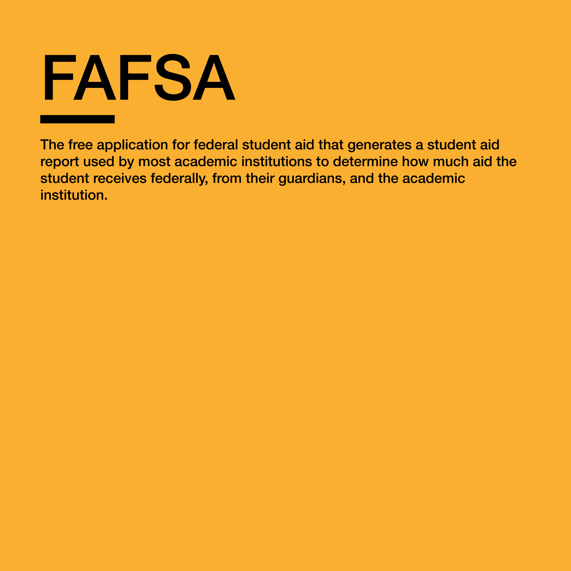 More info   https://studentaid.ed.gov/sa/fafsa/filling-out/help