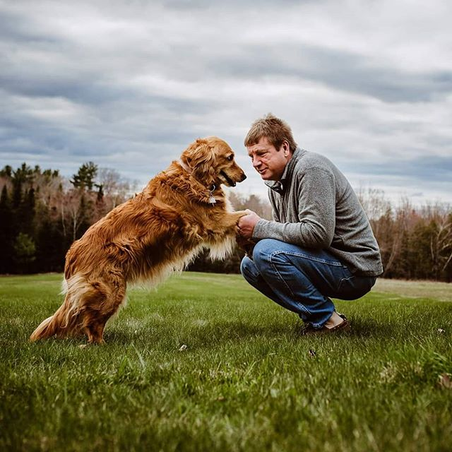 He may only be part of your life but to him you are his whole life.  #lookslikefilm #dogsofinstagram #mainephotography #mainephotographer #goldenretriever #maine #smalpresets #dearphotographer #storytellinghands #soulful_moments #adoptdontshop #loveanimals #d750 #dearestviewfinder #radstorytellers