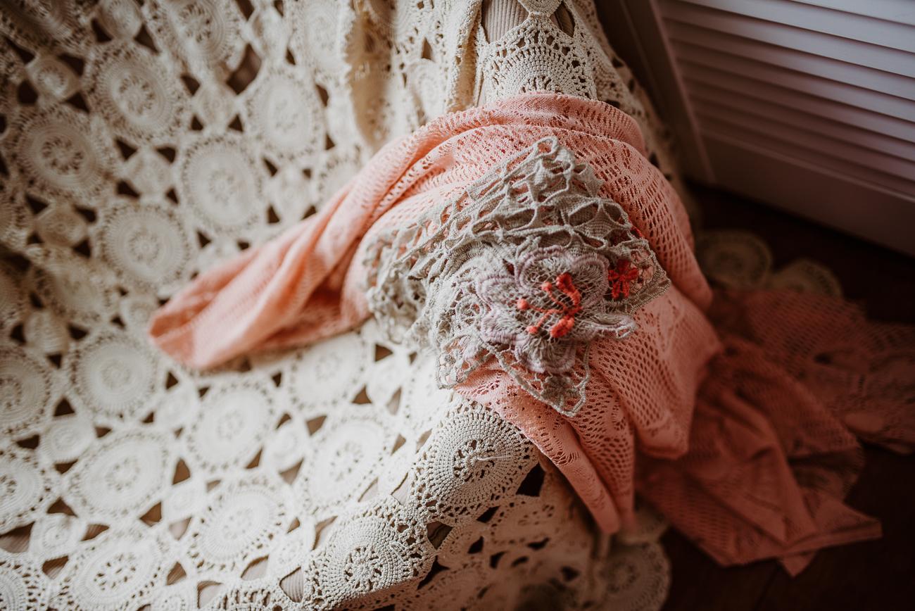 Bohemian fabric antique