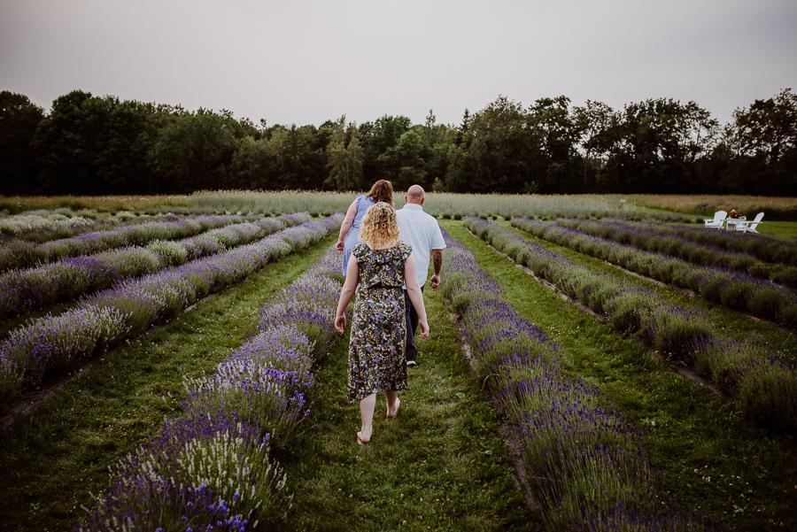 Moore Manor Lavender Mini Photo Sessions | Newport, Maine