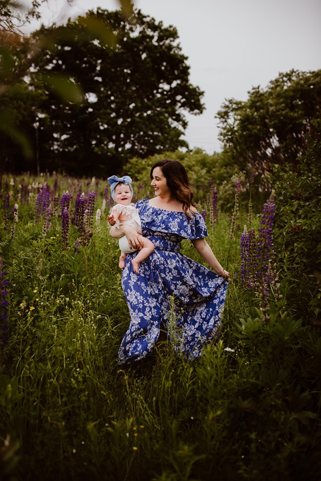 Photography Corinna Maine Mommy & Me Baby Dress BowLupine Photography Corinna Maine Mommy & Me Baby Dress Bow