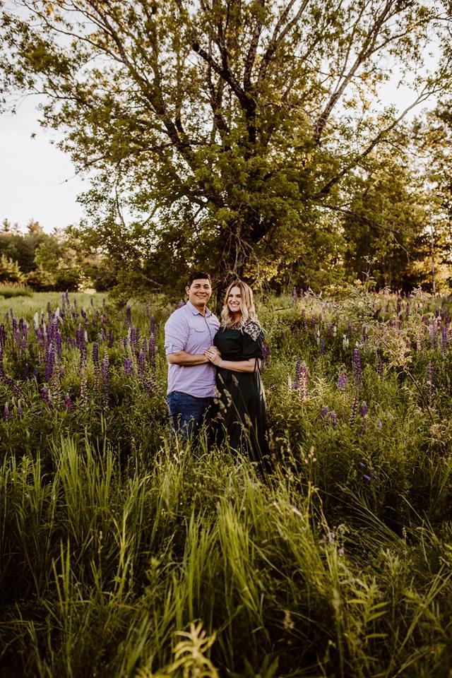 Lupine Photography Maine Family Sunset Dress Purple Boy Sun Flare