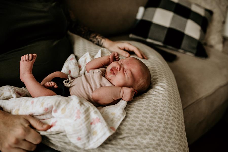 Birth Baby Storytelling Photography Mayo Regional Hospital Fresh 48 Newborn  flower bath siblings Maine