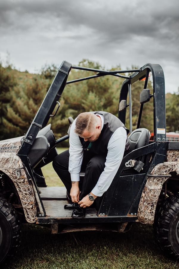 Adventure Bound Caratunk Maine Fall Woods Wedding Breezy Photography-30.jpg