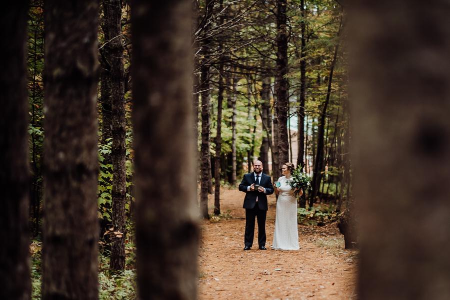 Adventure Bound Caratunk Maine Fall Woods Wedding Breezy Photography-24.jpg