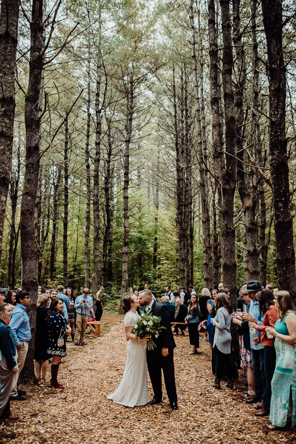 Adventure Bound Caratunk Maine Fall Woods Wedding Breezy Photography-18.jpg