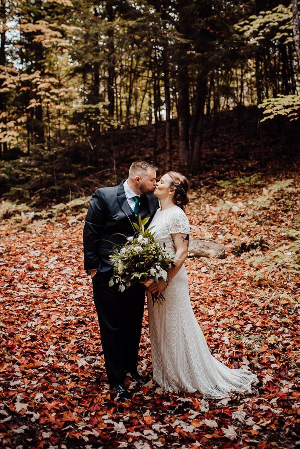 Adventure Bound Caratunk Maine Fall Woods Wedding Breezy Photography-12.jpg