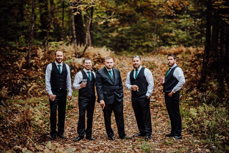 Adventure Bound Caratunk Maine Fall Woods Wedding Breezy Photography-11.jpg