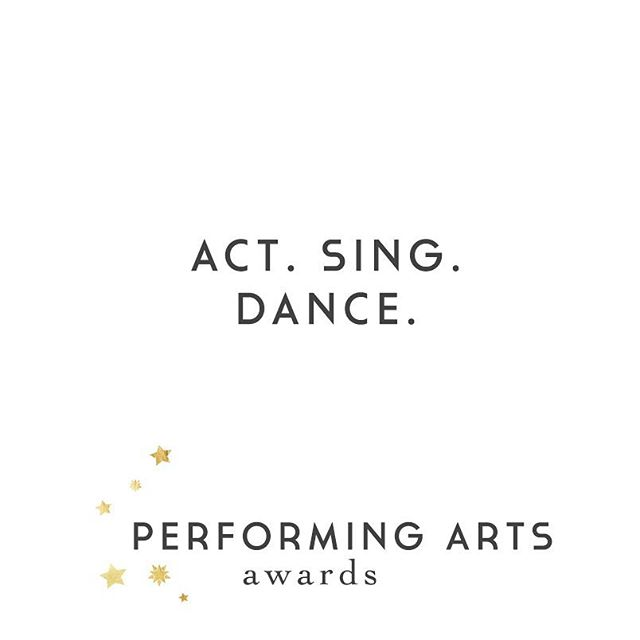 ACT SING DANCE  The Triple Threat award - goes to the soloist with the highest combined scored for their  acting, vocal, and dance solos in the 12 and under and 13 and up age divisions. Must enter all  3 categories to be eligible.