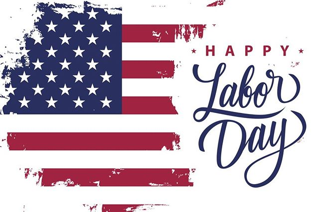 Happy Labor Day! Hope you can enjoy today with your friends and family.  #LaborDay #Friendsandfamily