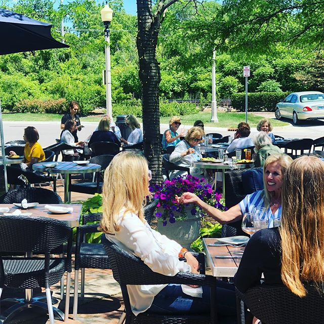 Summer isn't finished with us yet!  Come soak up the al fresco season while you can #patioisopen