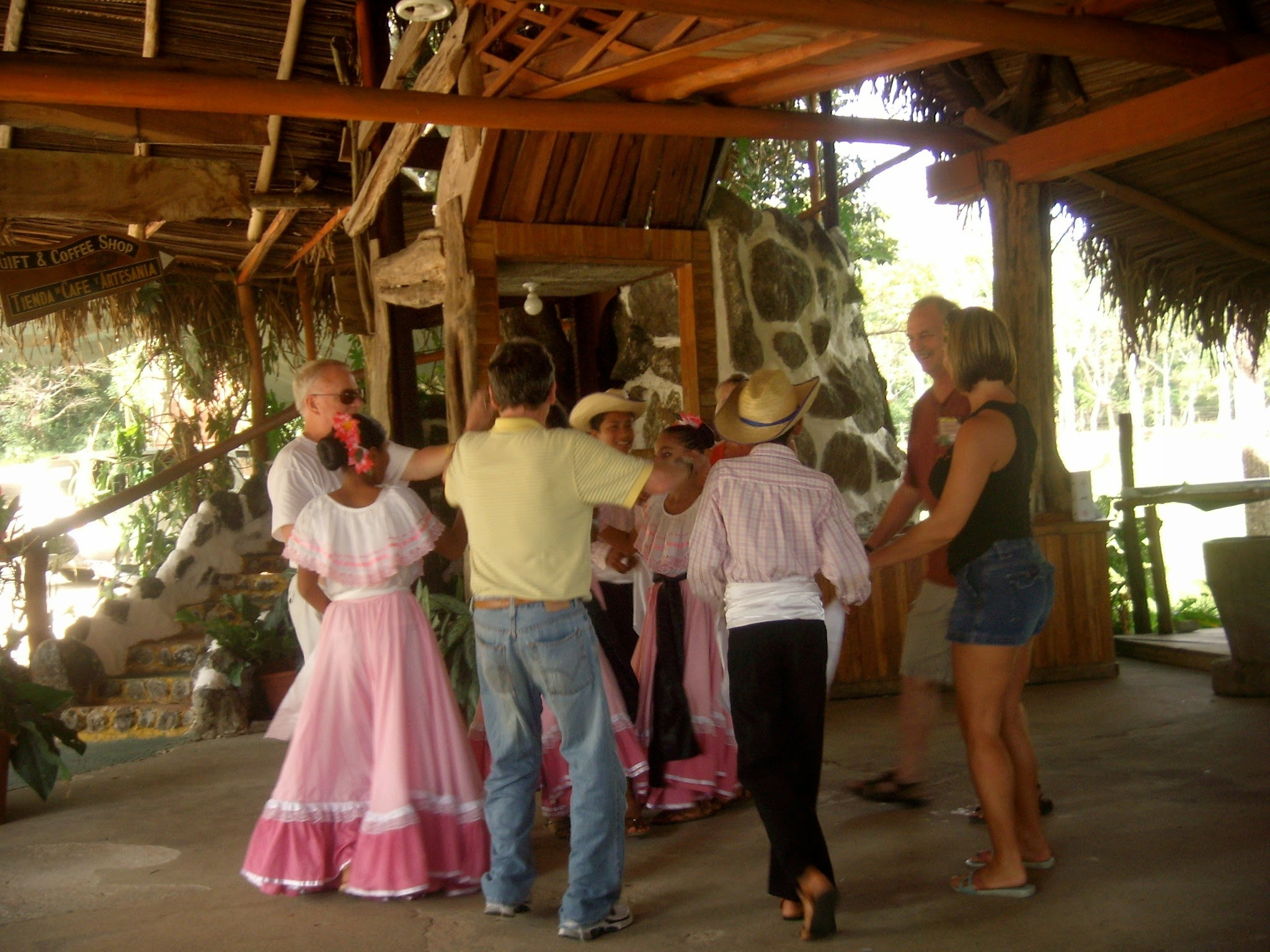 Learning a traditional dance