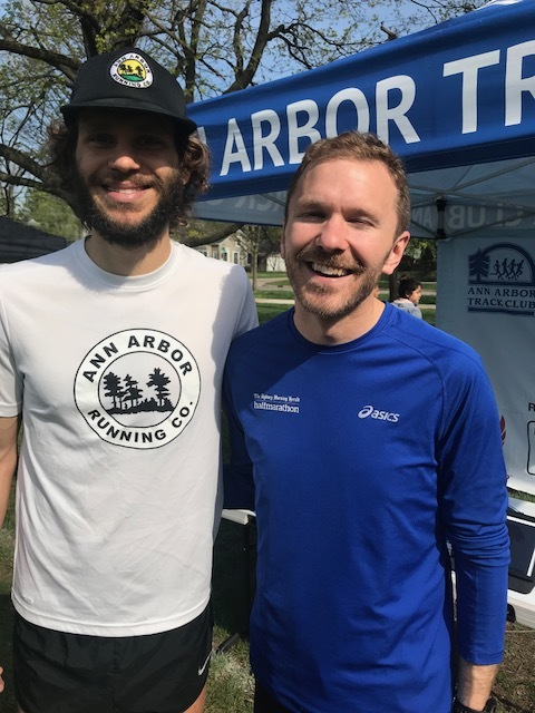 Run Ian, Run! Winner of the 2018 Burns Park Run, Ian Hancke.