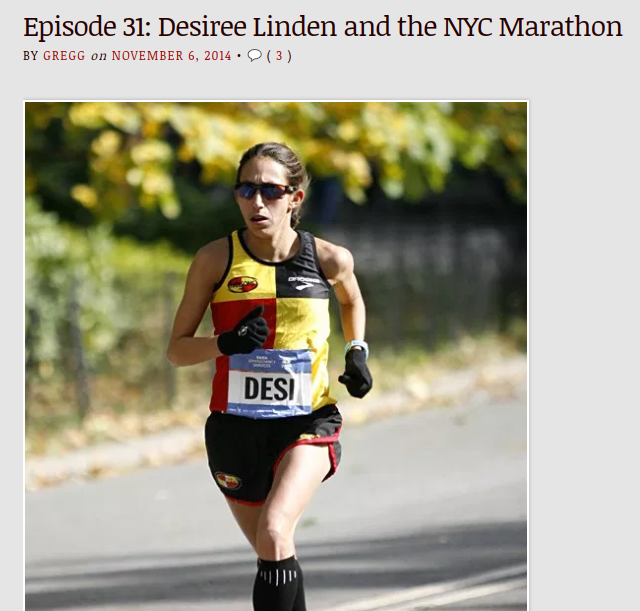 Gregg and his co-host, Brenn Jones, have scored interviews with running royalty like Des Linden, Jared Ward, and Stephanie Bruce
