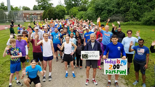 parkrun Livonia celebrating 6 years of community