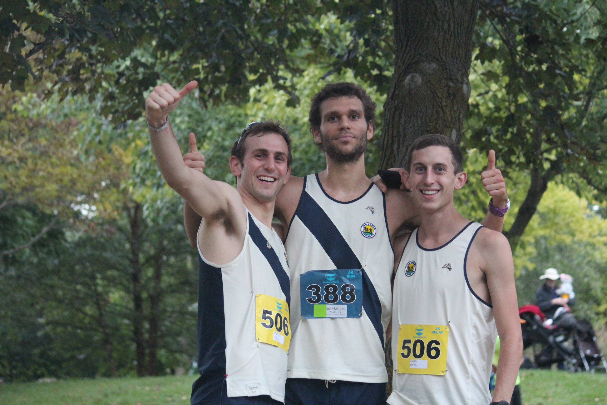 Ann Arbor Running Co. sets a very high bar for the inaugural relay with a blazing 14:29