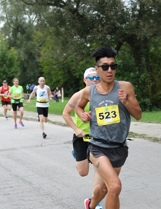 Representing Ypsilanti Running Co., Cameron Trinh's team led the mixed division bell-to-bell