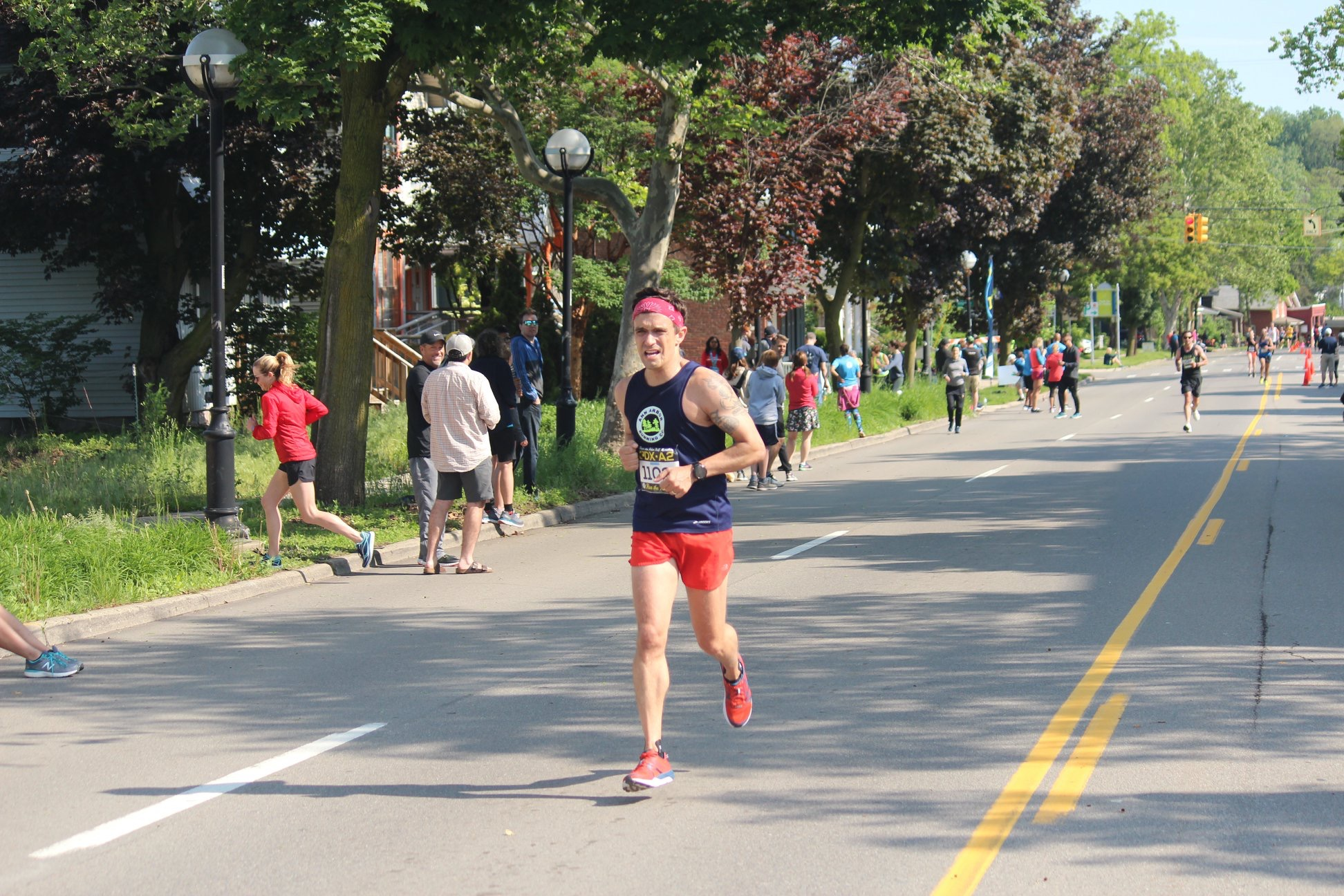 Brian's address may say Ferndale, but this dude has Ann Arbor runner DNA.