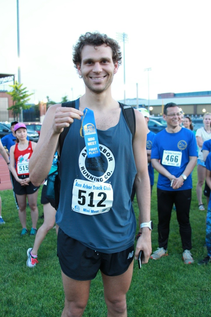 IAN HANCKE // Ann Arbor Running Co. // All this guy does is win.