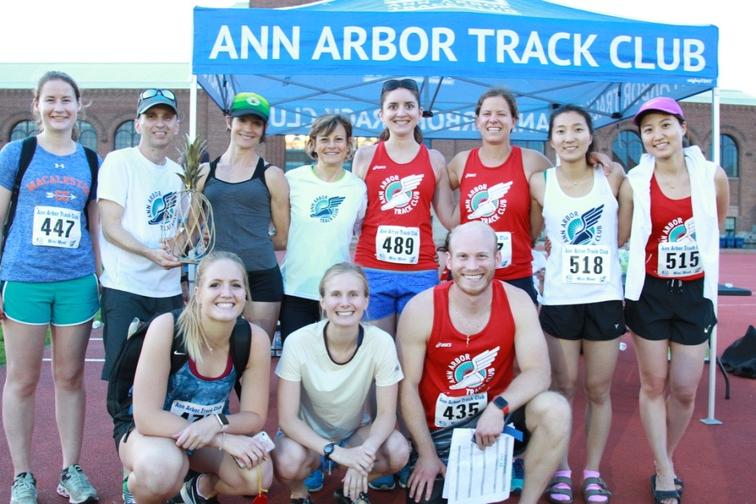 ANN ARBOR TRACK CLUB // Strong night for AATC women.