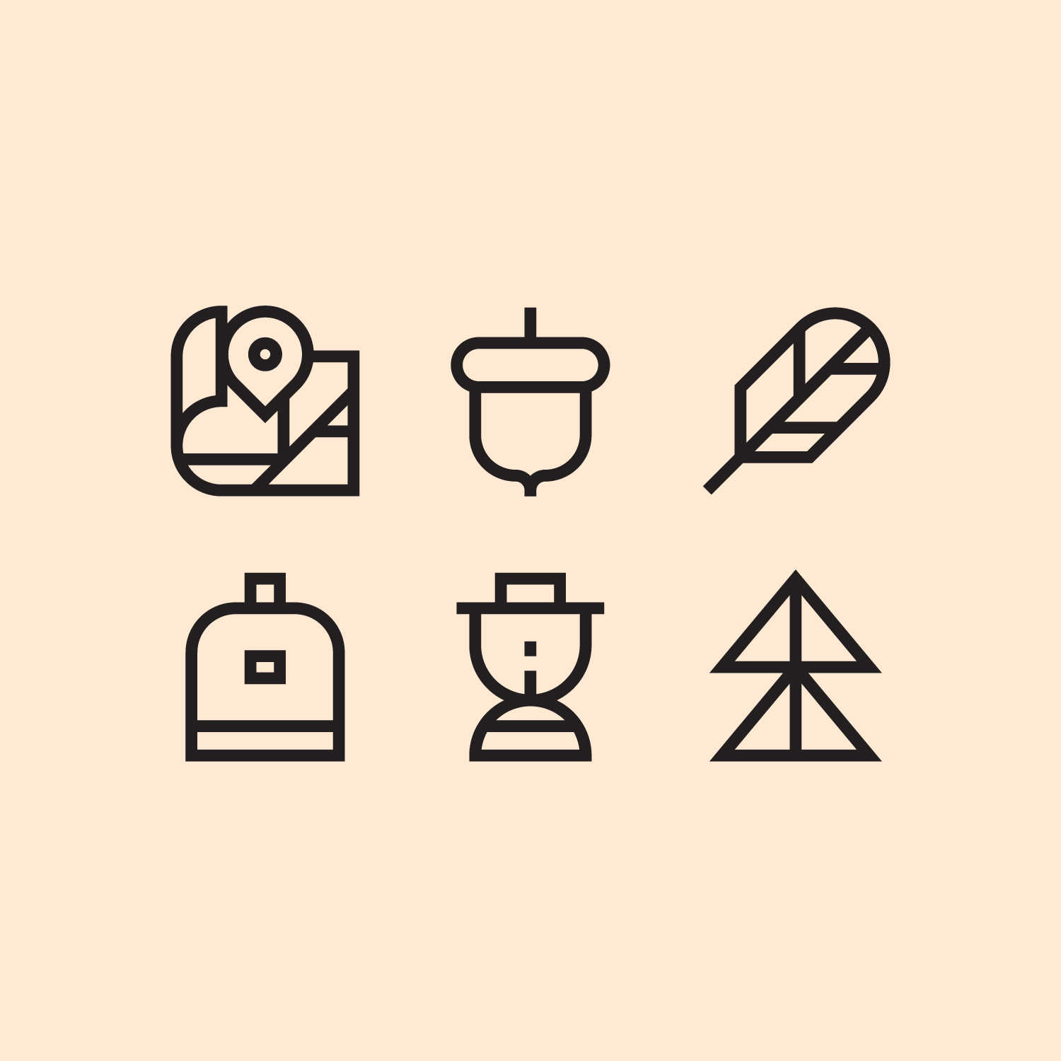 Education First icon system  A brand new icon system for EF, an international education company. We created around 200+ icons in total, all based on the same grid to ensure consistency across the system