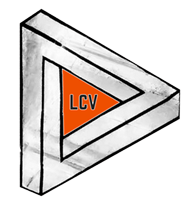 LCV logo - PNG black edge with white body (white stroke) - no background orange centre small.png