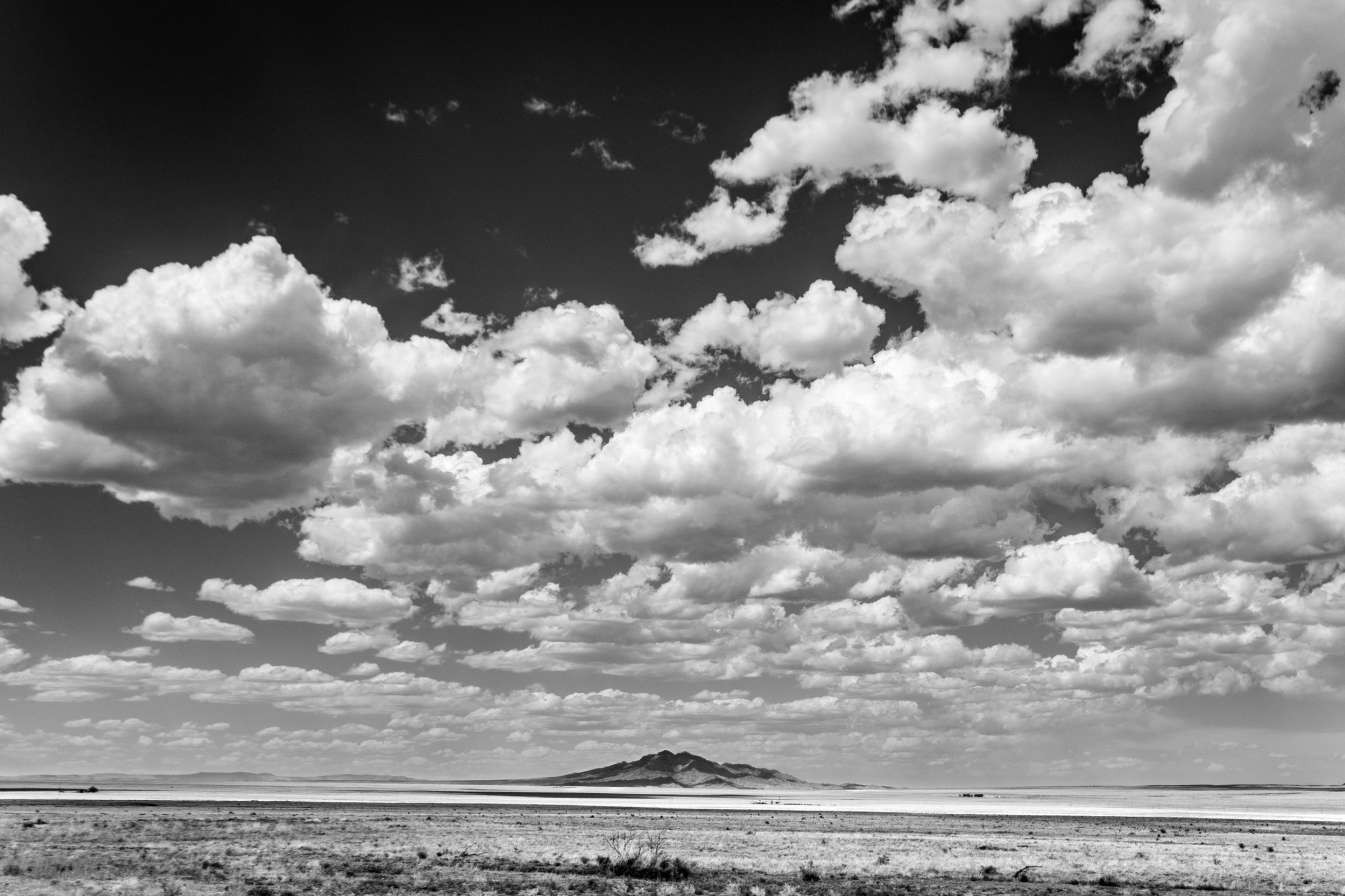 Clouds Over New Mexico