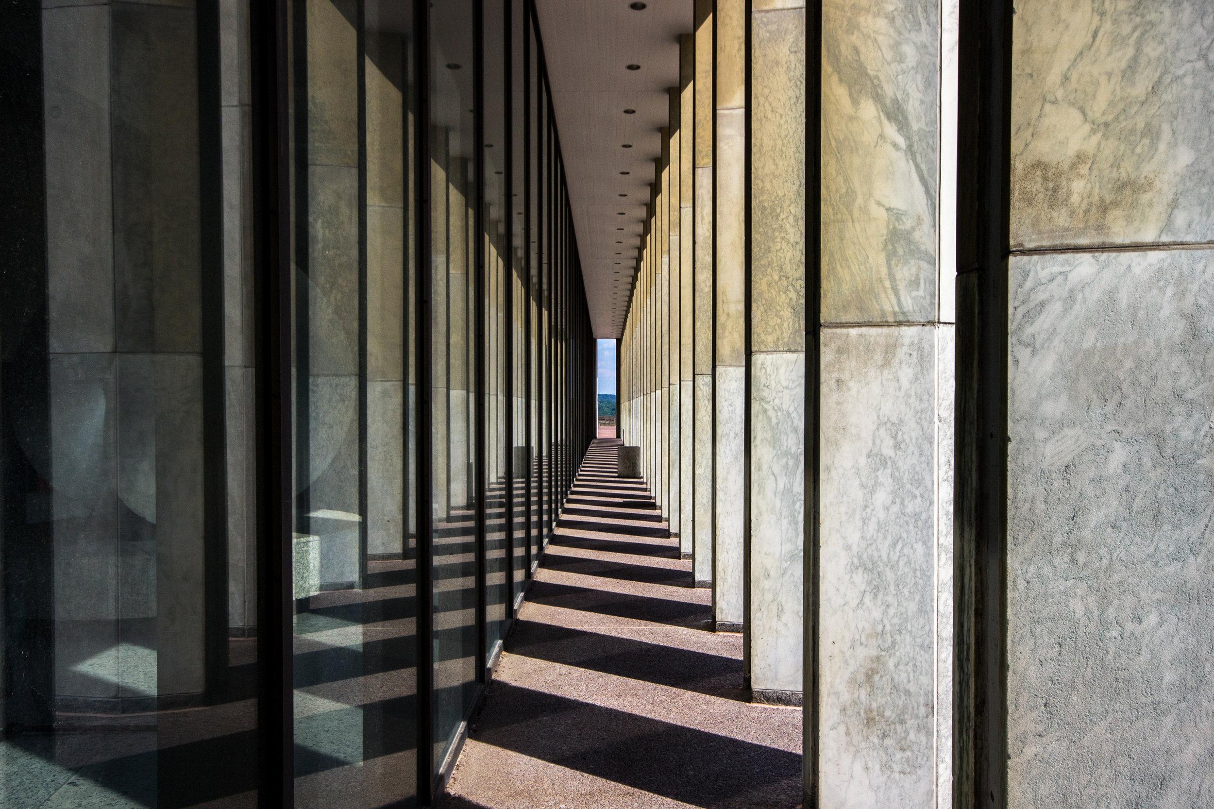Plaza Shadows