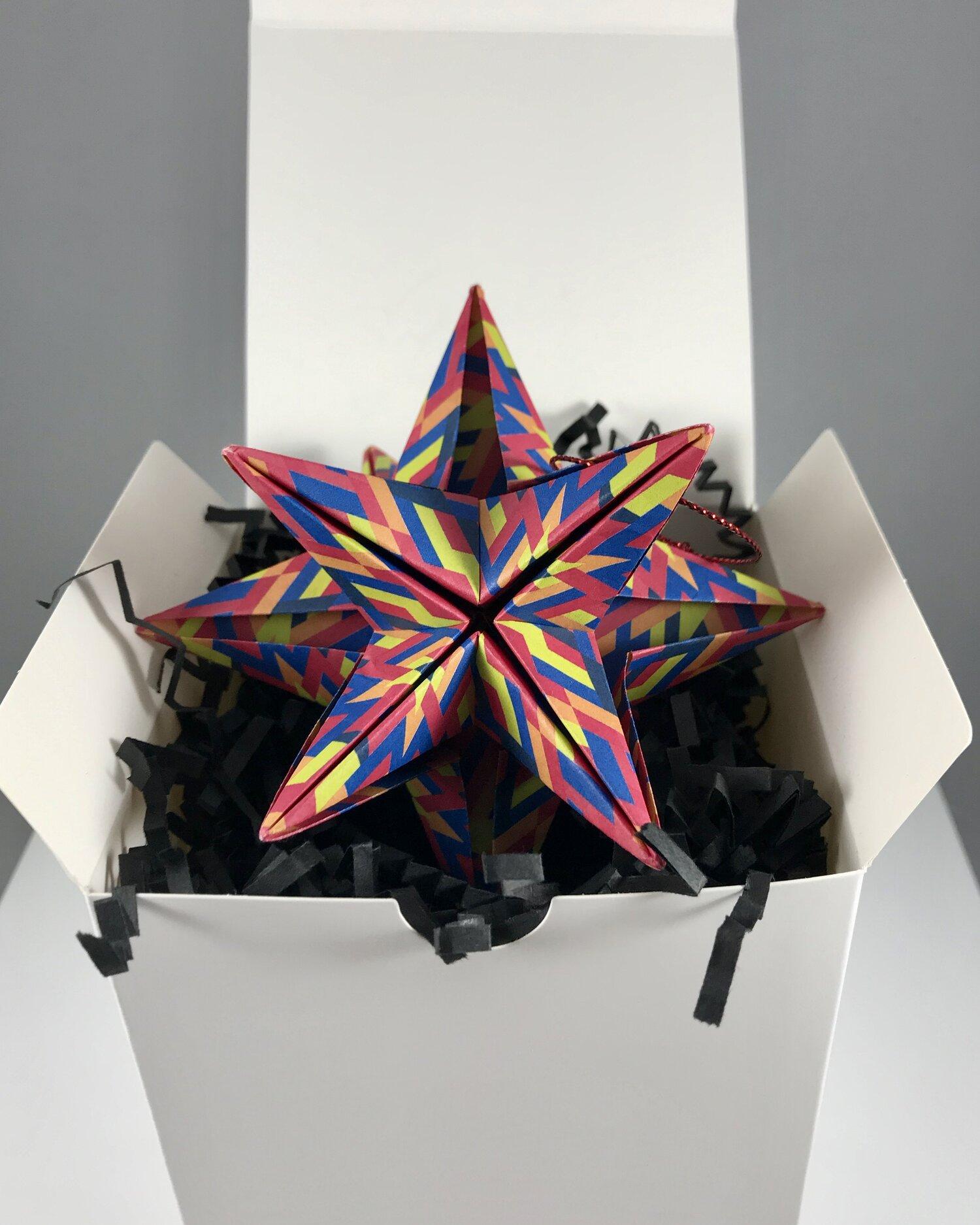 How to Fold an origami 3D omega star « Origami :: WonderHowTo | 1875x1500