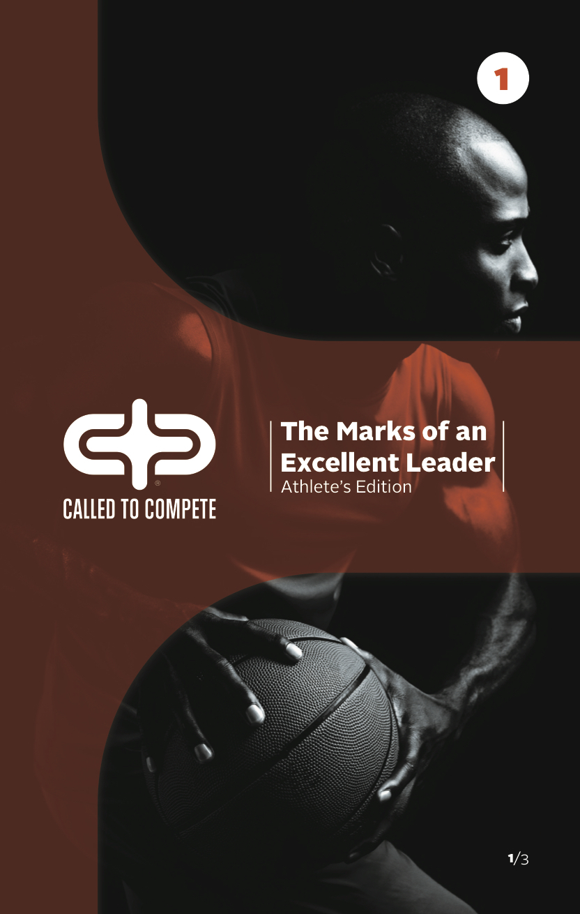 The Marks of an Excellent Leader (ATHLETE EDITION) Book 1 - The Marks of an Excellent Leader (ATHLETE EDITION) Book 1 can be ordered here. Each book includes 12 lessons along with free video downloads that support the study.