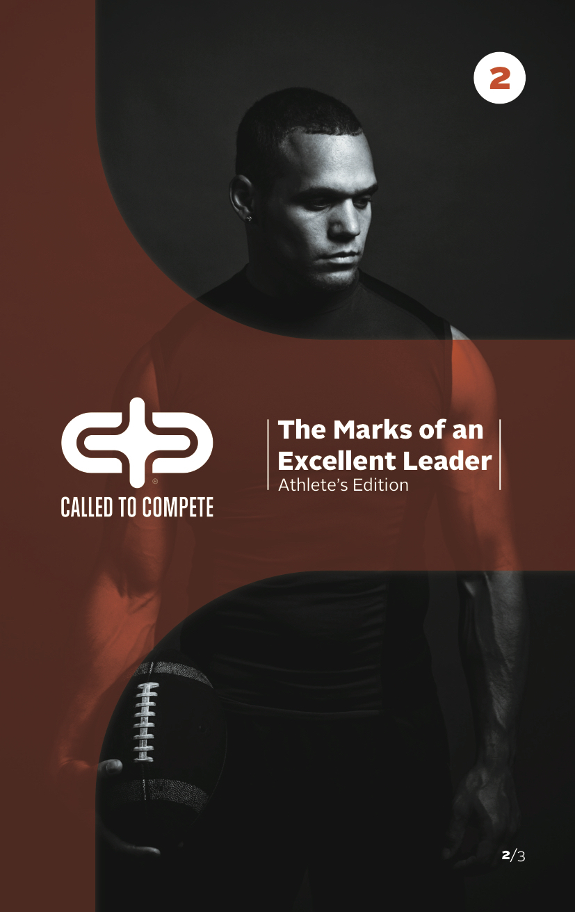 The Marks of an Excellent Leader (ATHLETE EDITION) Book 2 - The Marks of an Excellent Leader (ATHLETE EDITION) Book 2 can be ordered here. Each book includes 12 lessons along with free video downloads that support the study.