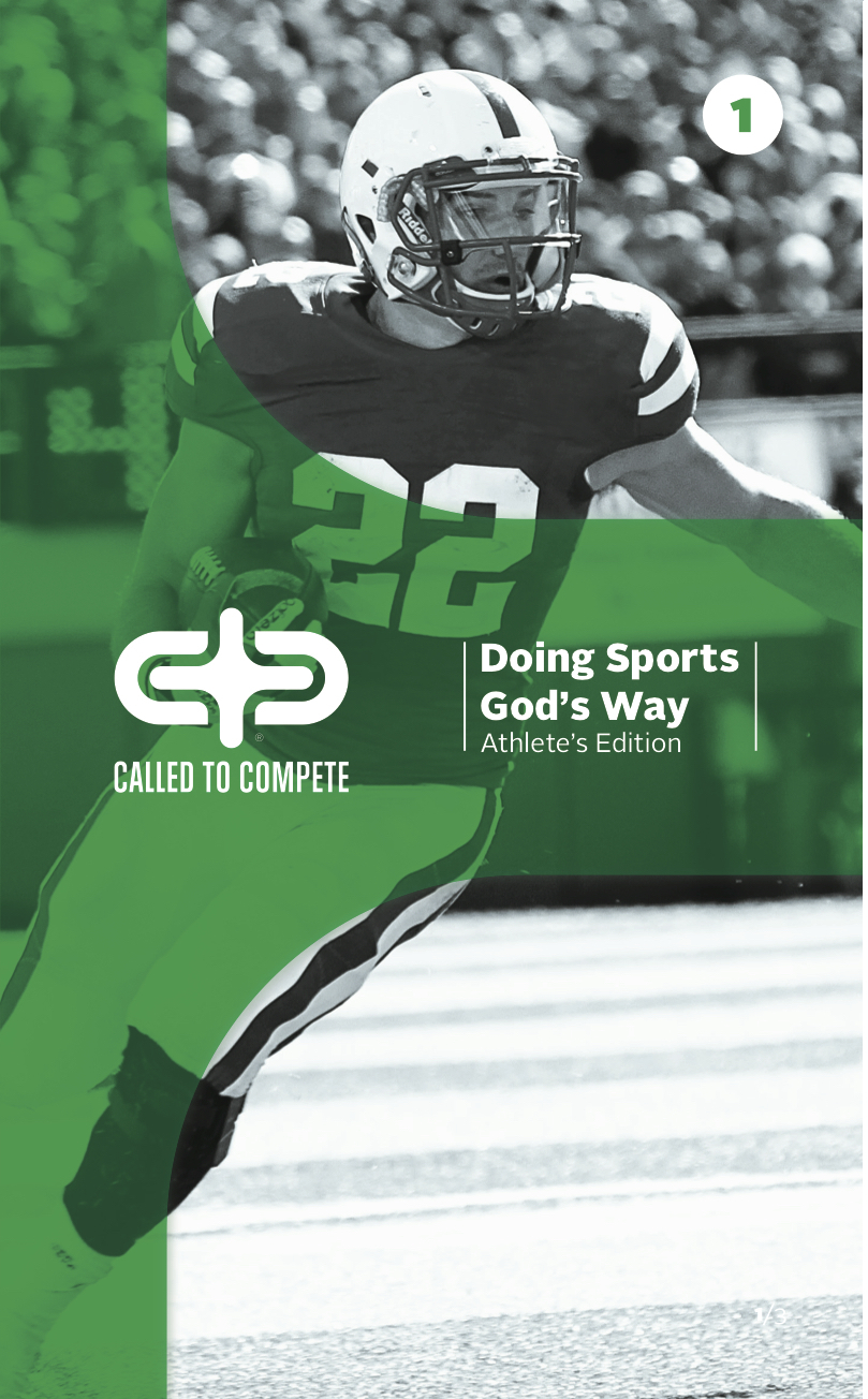 Doing Sports God's Way (Athlete's Edition) - Doing Sports God's WayEach book includes 7 lessons along with free video downloads that support the study.