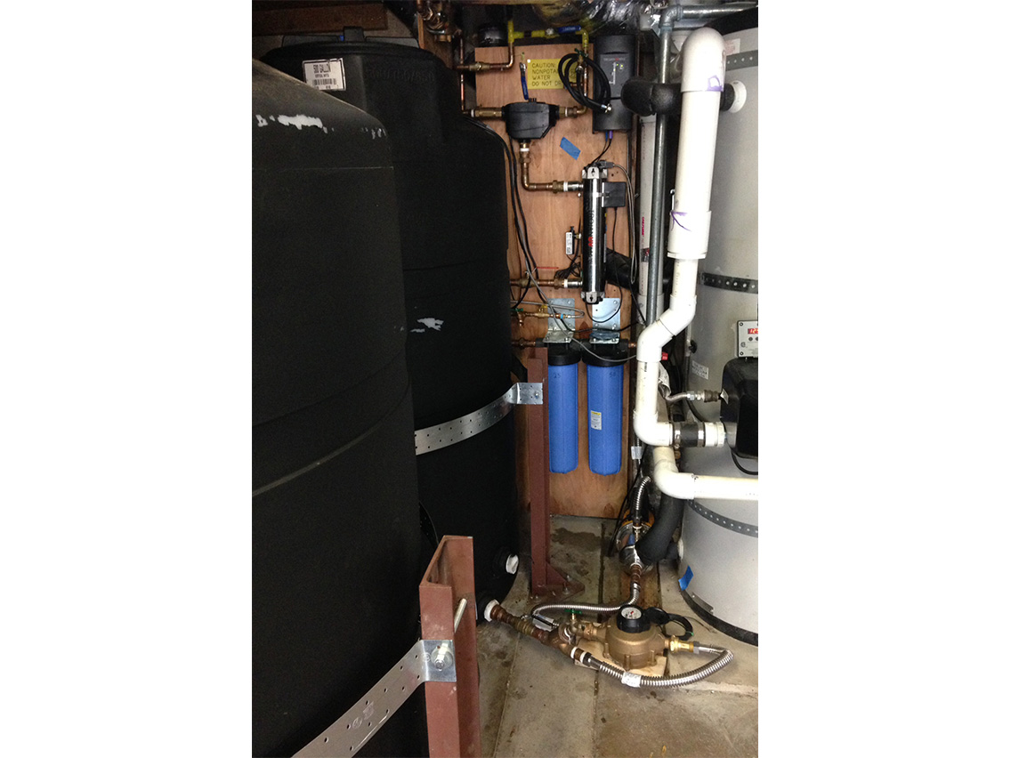 Rainwater Harvesting + Graywater