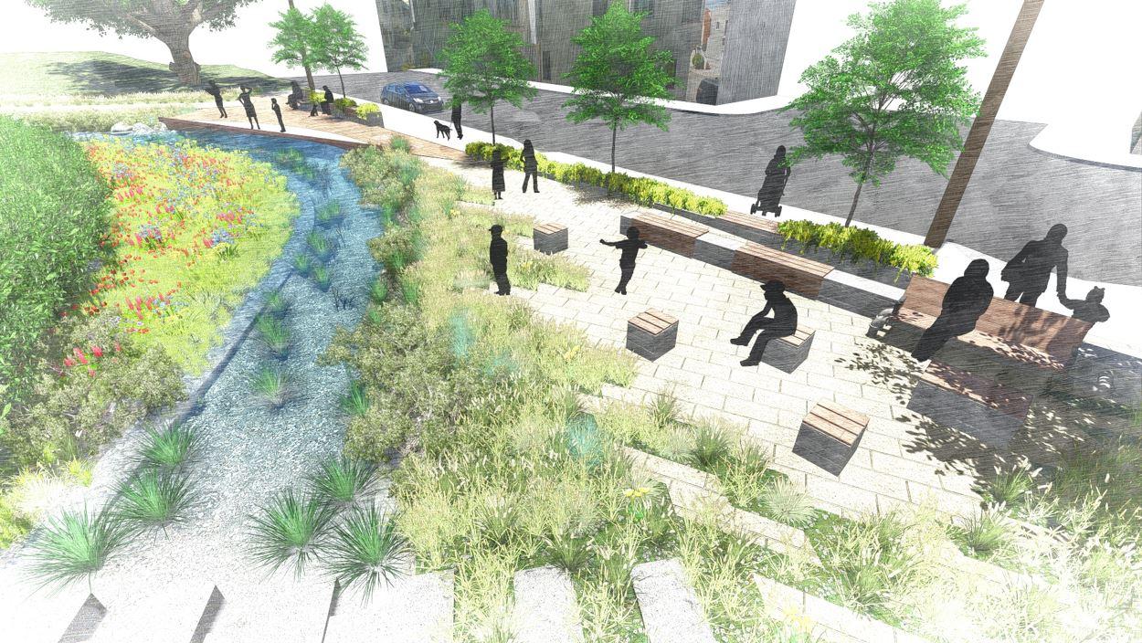 reach 2 - proposed interpretive center