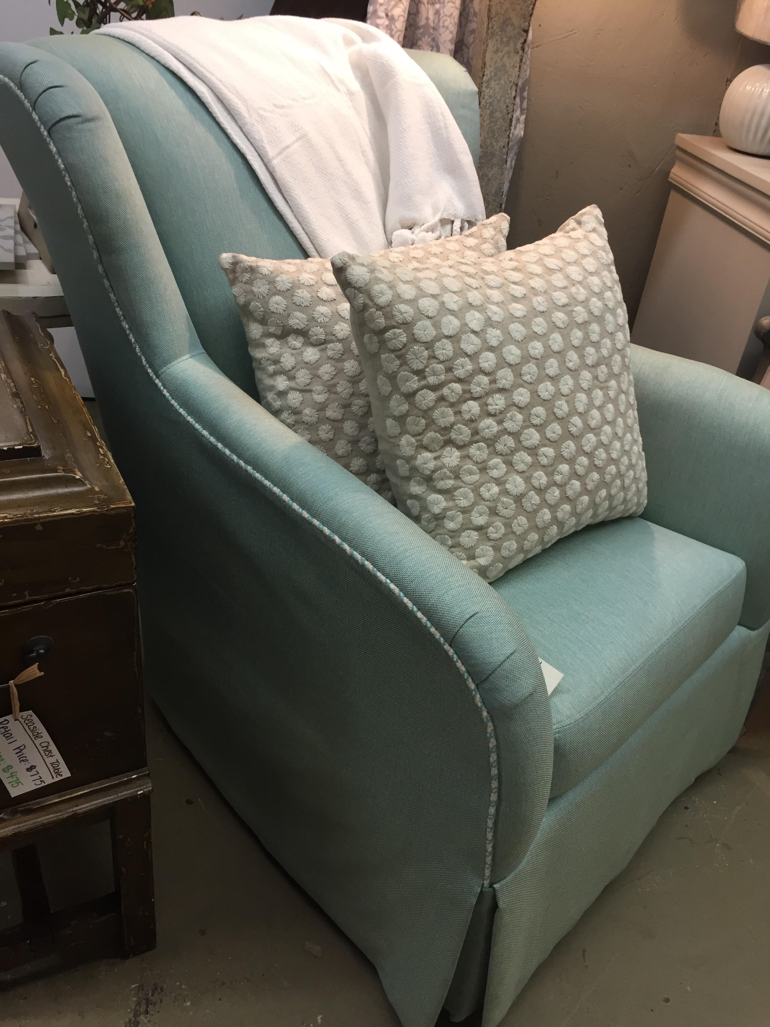Norwalk Swivel Glider- $1361 off the floor - Customization Available