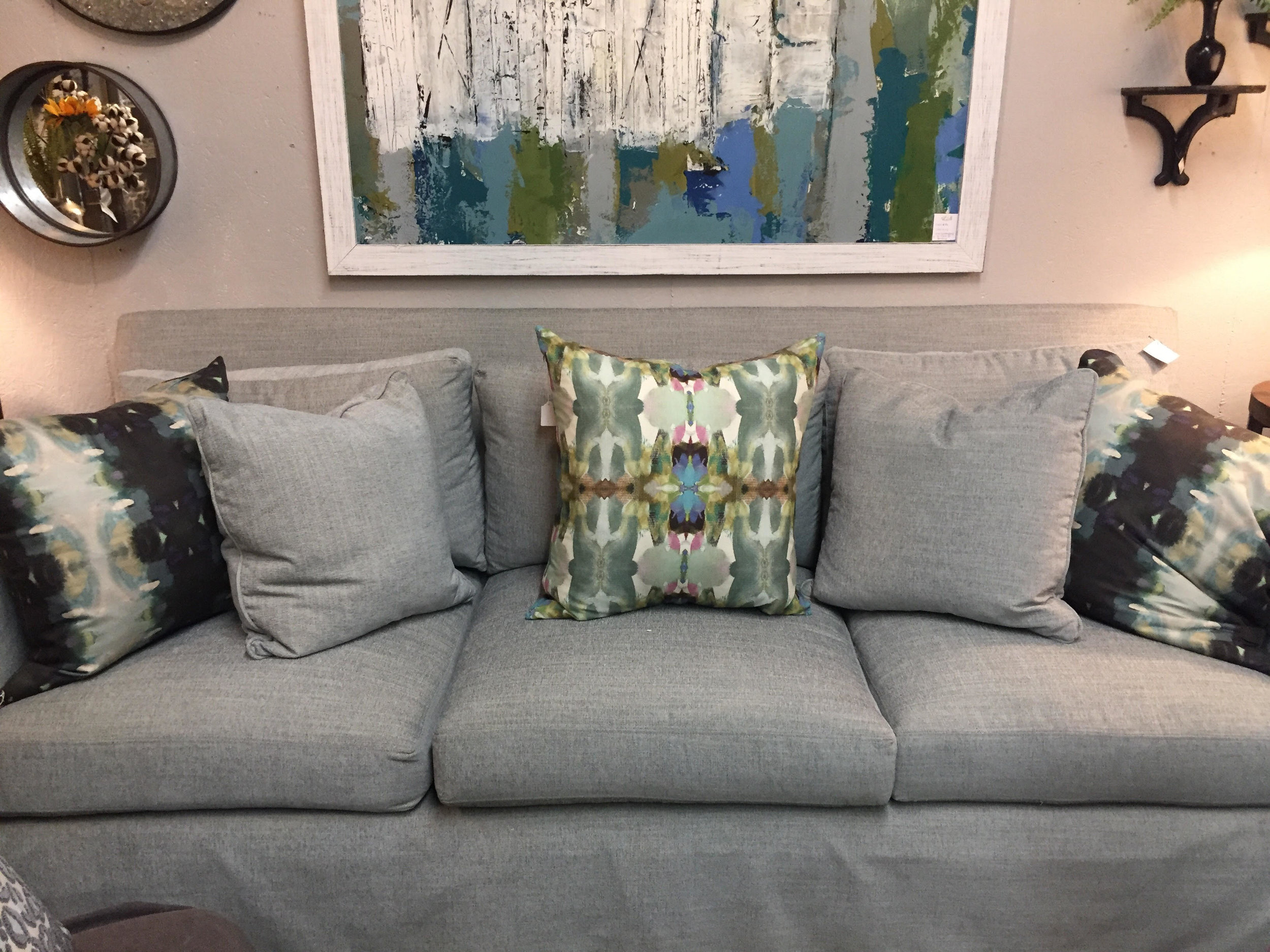 Light Blue Sofa - $2884