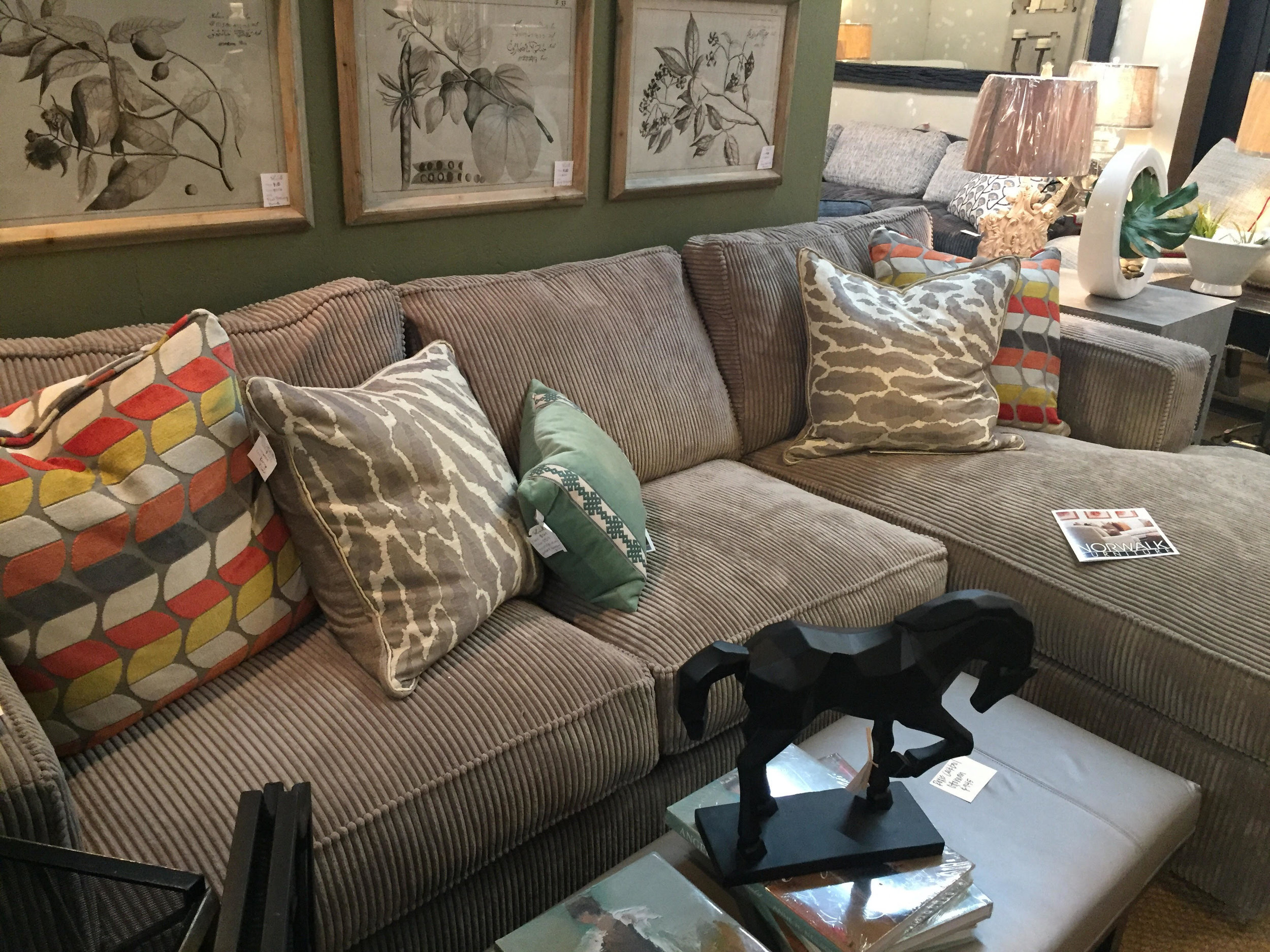 Norwalk Sectional- $4381 off the floor - Customization Available