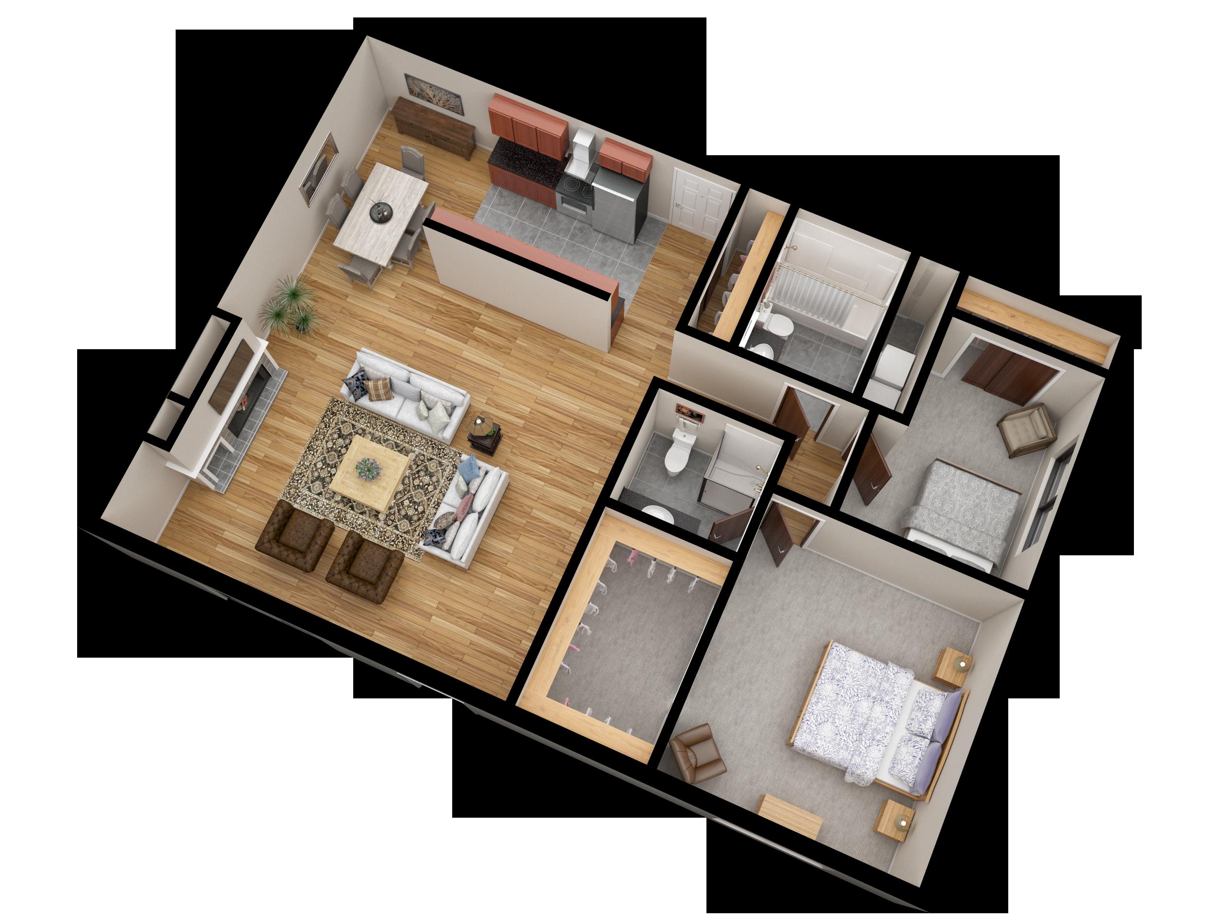 01 Apartment Line