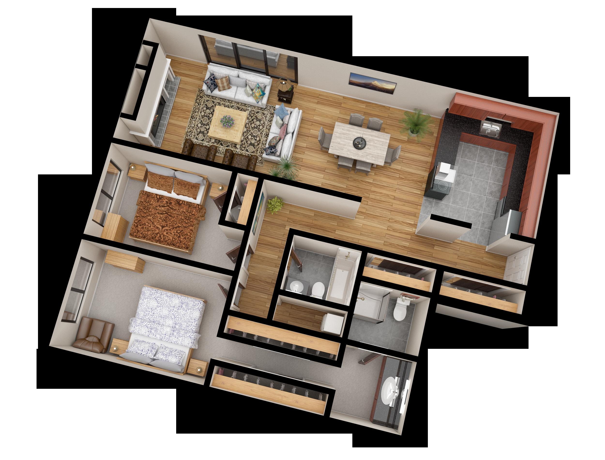 02 Apartment Line