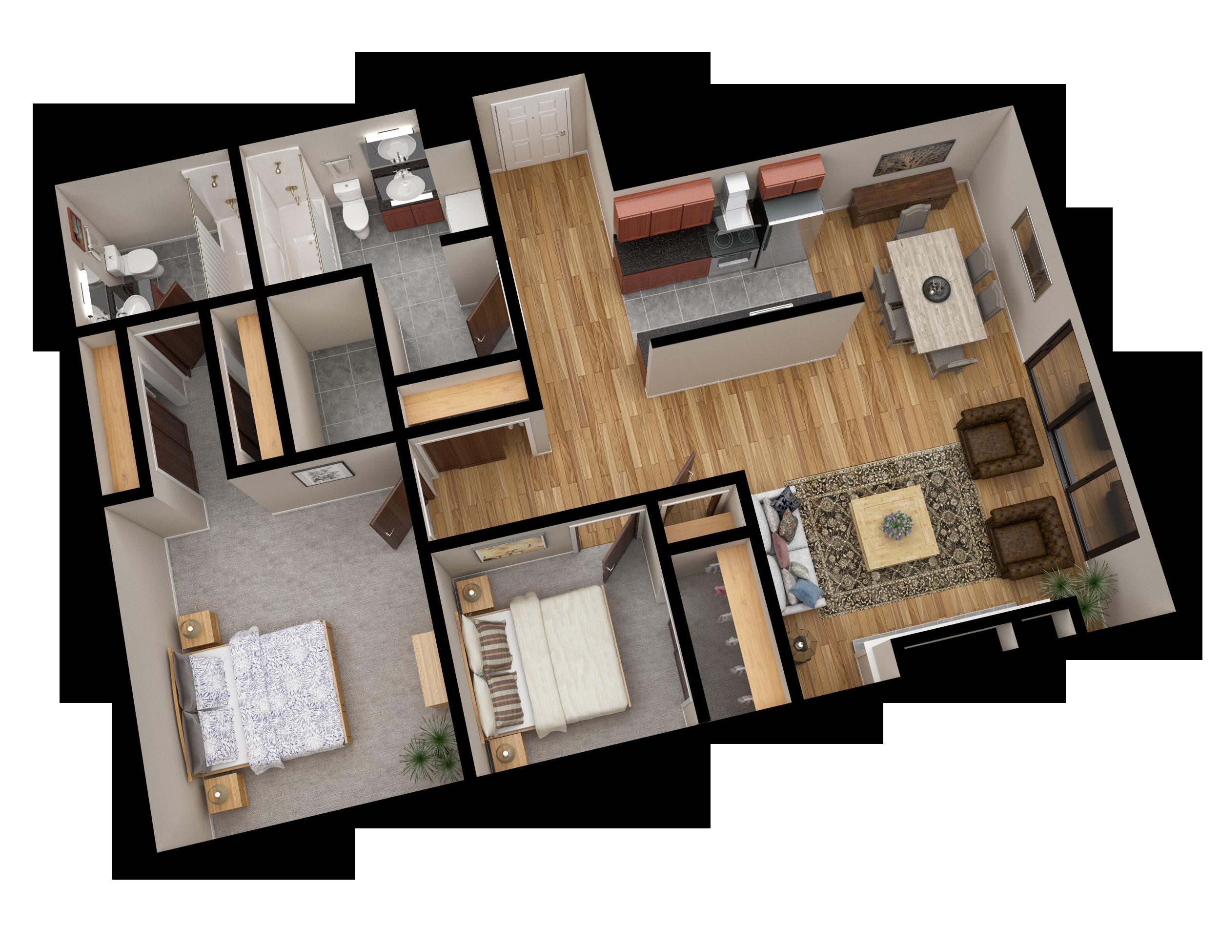 03 Apartment Line